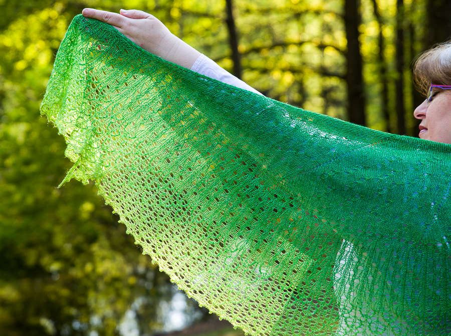 Sparkling Rain Shawl by ChristalLK