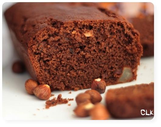 Cake Chocolat Poire Fondant