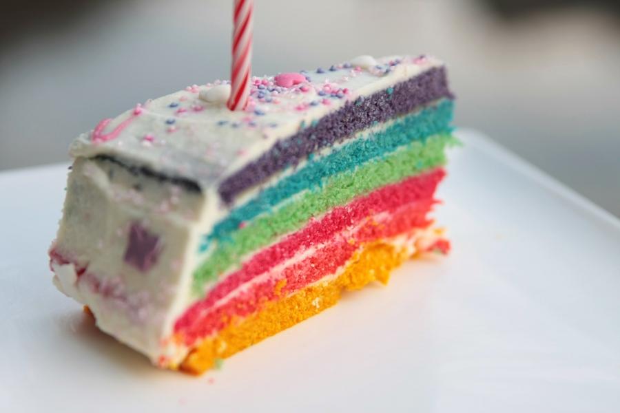 Rainbow Cake Chez Remi Recette Ecrite